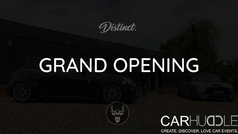 Distinct Automotive & B Road Hunting Club Open Day