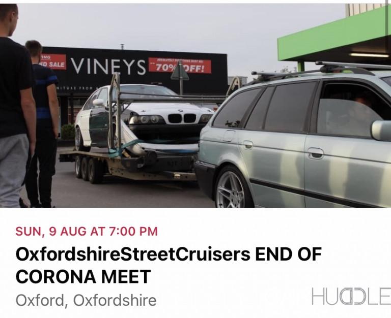 OxfordshireStreetCruisers END OF CORONA MEET
