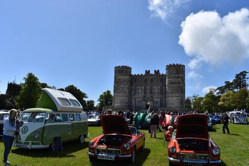 Dorset Blind Lulworth Castle Motor Show