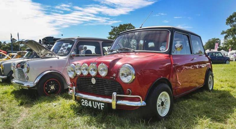 Mini Cooper Register Rally