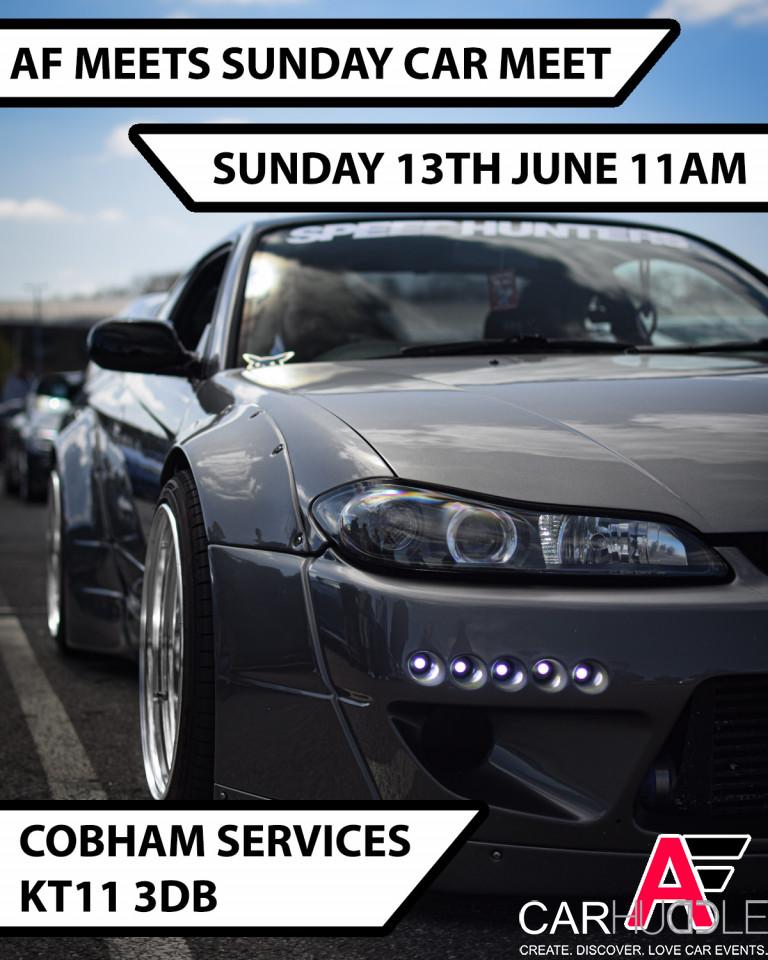 AF MEETS SUNDAY COBHAM CAR MEET