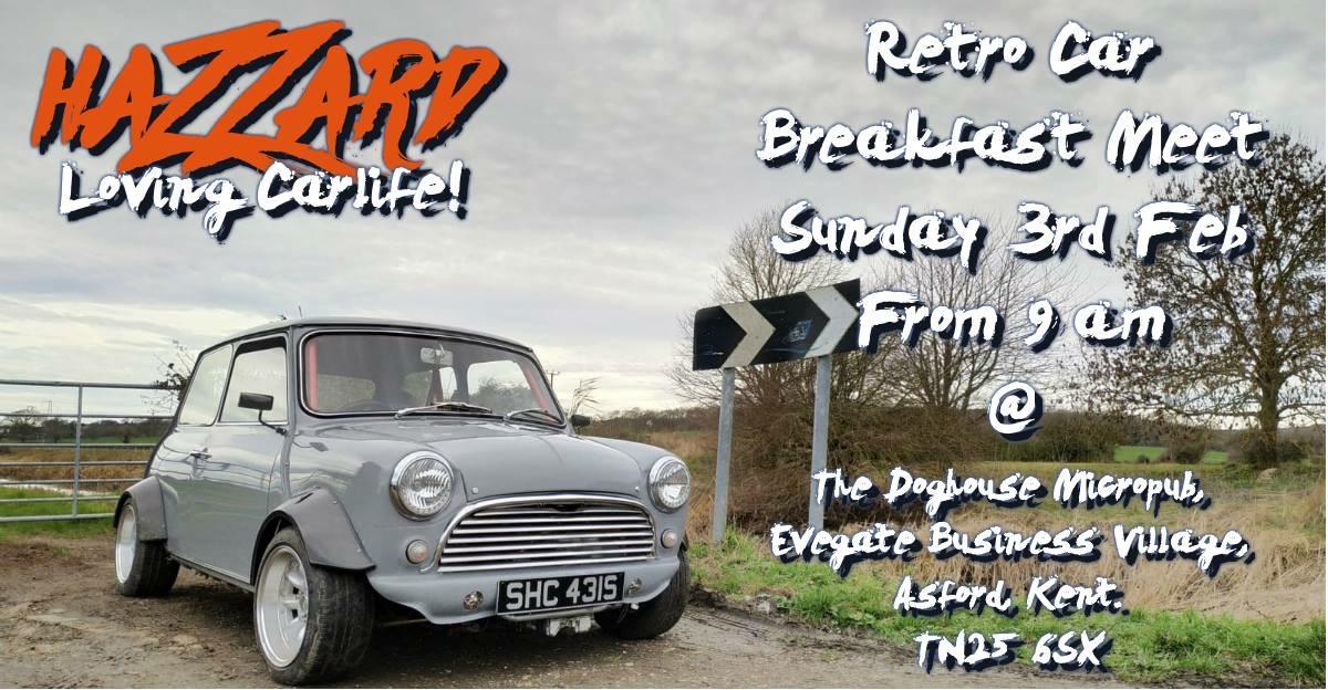 Hazzard Retro Car Breakfast Meet