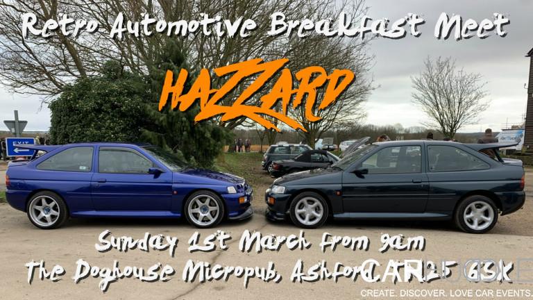 Hazzard Retro Automotive Breakfast Meet