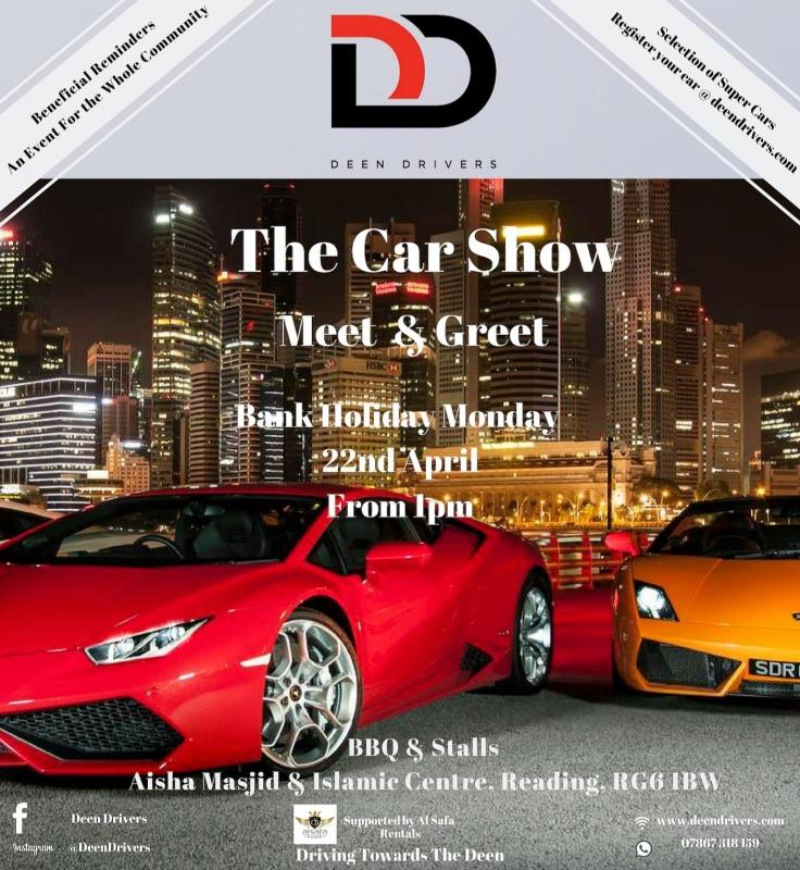 Deen Drivers presents 'The Car Show Meet & Greet'