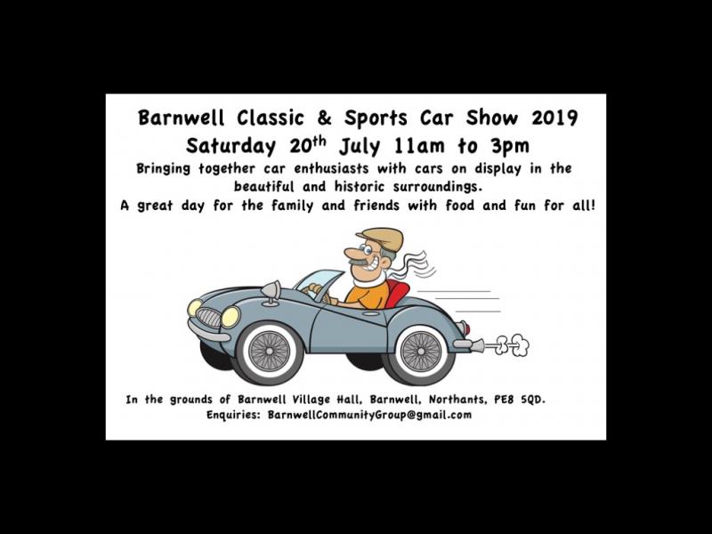 Barnwell Classic & Sport Car event