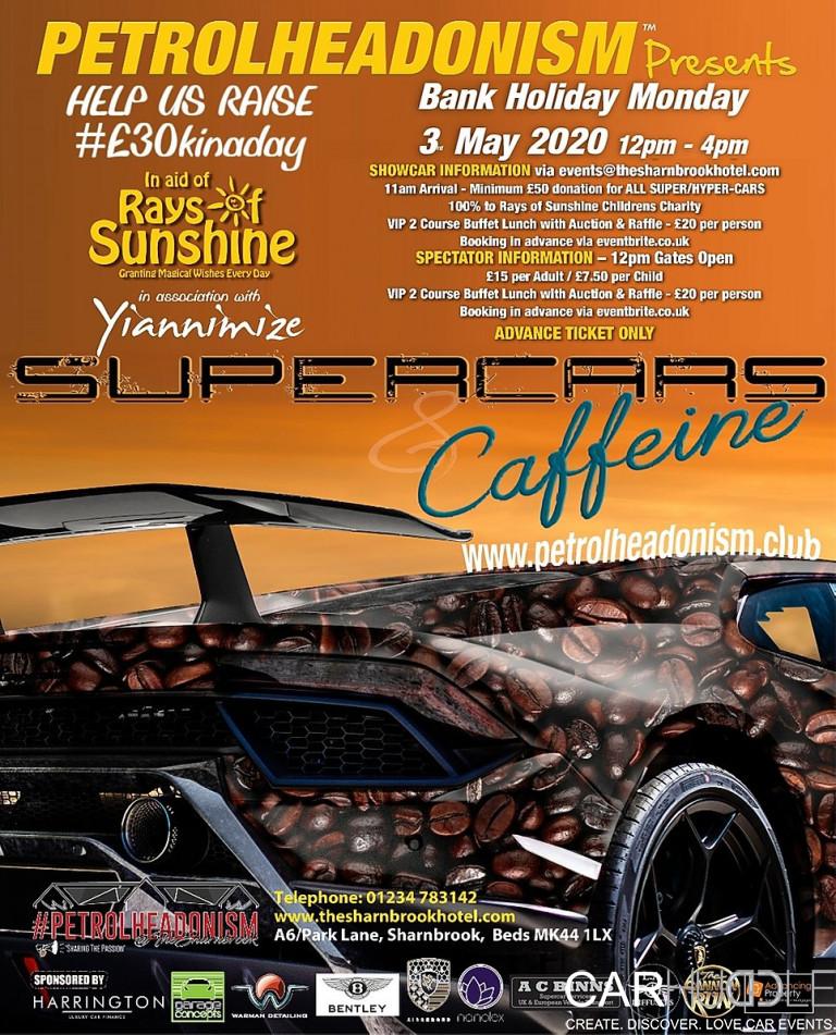SUPERCARS & CAFFEINE  SHARNBROOK