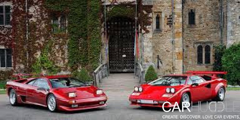 Hever Castle Car Show